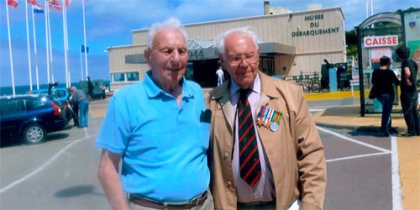 Clifford Baker (left) and Bill Betts (right)