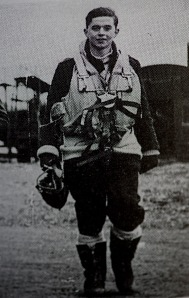 John pictured during his WWII service with the RAF