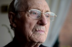Jack Jennings survived the horrors of Changi prison camp (photo credit: Kevin Clifford)