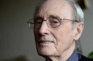 Jack Jennings, 93, pictured at home in Torquay (photo credit: Kevin Clifford)