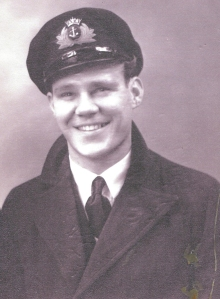 Ronald pictured post-war in 1946