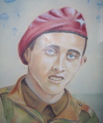 A 1940s painting of Harold Herbert