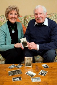 George Davies and his wife, Barbara