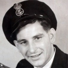 Ron in his Naval uniform