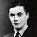 Wendy's husband George, an RAF pilot