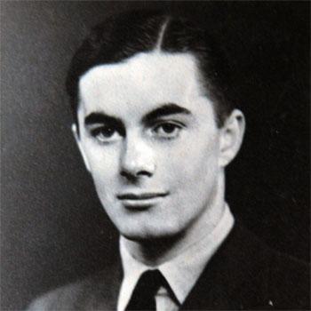 Wendy's husband George, an RAF pilot