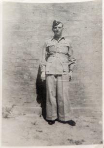 Jim in his wartime uniform
