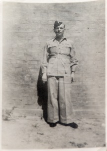Jim in his wartime uniform